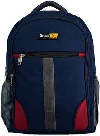 Skyline Laptop Backpack-Office Bag/Casual Unisex Laptop Bag-With Warranty-814  Blue