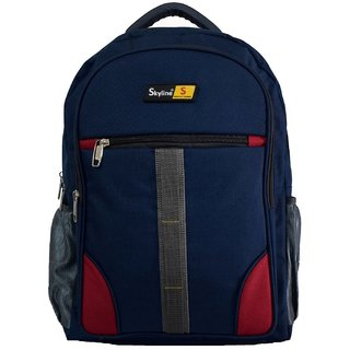 Skyline Laptop Backpack-Office Bag/Casual Unisex Laptop Bag-With Warranty-814  Blue