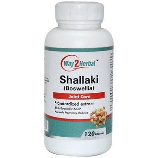 Way2Herbal Shallaki 120 capsules