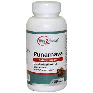 Way2Herbal Punarnava 120 capsules