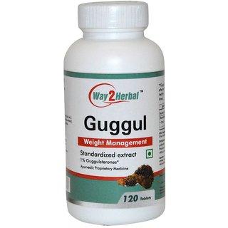 Way2Herbal Guggul 120 Tablets