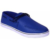 Floxtar Men Blue Lace-up Casual Shoes