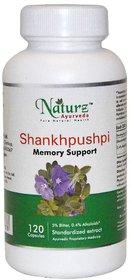 Naturz Ayurveda Shankhpushpi 120 capsules