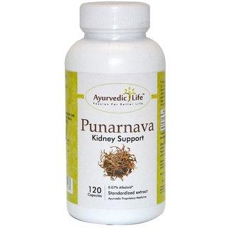 Ayurvedic Life Punarnava 120 capsules