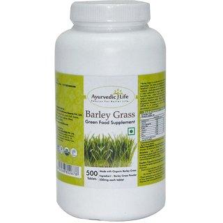 Ayurvedic Life Barley Grass 500 Tablets