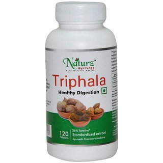 Naturz Ayurveda Triphala 120 Tablets