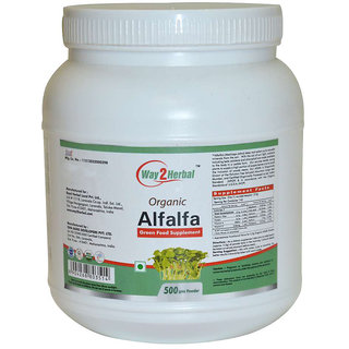 Way2Herbal Alfalfa 500 gm Powder