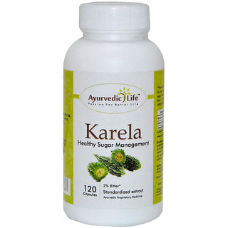 Ayurvedic Life Karela 120 capsules