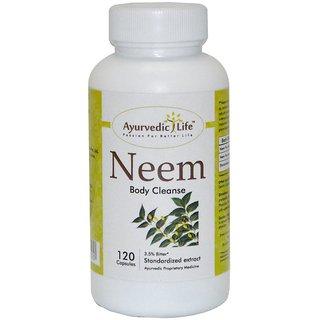 Ayurvedic Life Neem 120 capsules