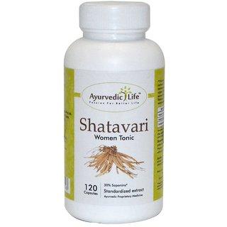 Ayurvedic Life Shatavari 120 capsules