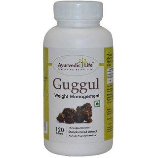 Ayurvedic Life Guggul 120 Tablets
