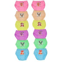 PANTY GIRLS INNER WEAR PACK OF 12