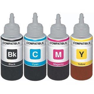 flowjet compatible ink for epson l100/l200/l220/l355, 4 colors