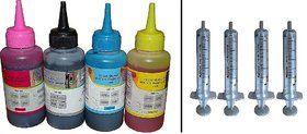 Green 100ml Refill Ink with Syringe for HP, Canon, Brothers Printer Cartridge