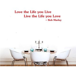 Asmi Collections Wall Stickers Quotes on Life