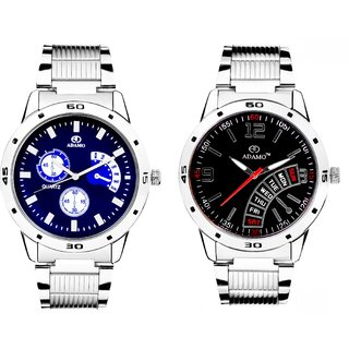 ADAMO Men's Designer Watch Combo 108102