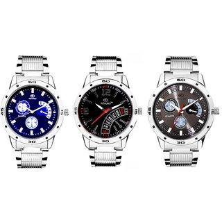ADAMO Men's Designer Watch Combo 108102106