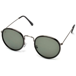 MTV Black Round UV Protection Sunglases