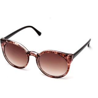 MTV Brown Round UV Protection Sunglases