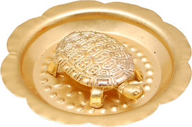 Kriwin Wish fulfilling TortoiseTurtleKachchua on Metal Plate for Fulfillment of all your wishes