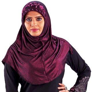 Parvin Diah 107 Magenta Hijab