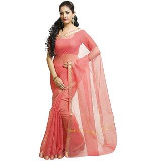 Sk Fashion Black Plain Art Silk Saree Without Blouse