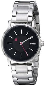DKNY Quartz Black Dial Women Watch-NY2268