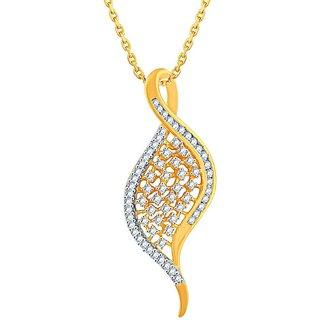 Sangini Diamond Pendant PP17516SI-JK18Y
