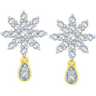 Maya Diamond Diamond Earrings NTERB015SI-JK18Y