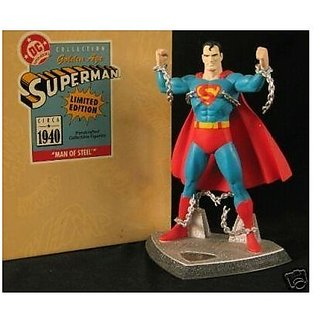 Hallmark Superman Man Of Steel Statue