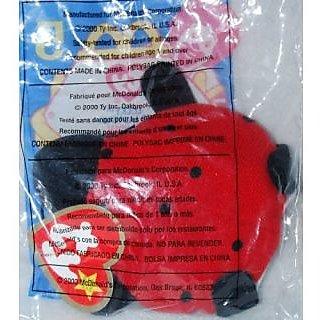 Lucky The Ladybug - McDonalds Ty Teenie Beanie MIP - 2000 #05