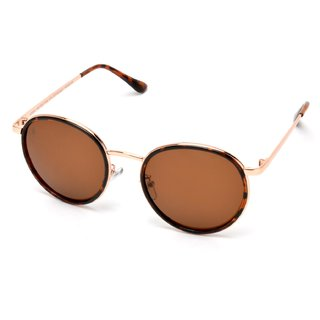 MTV Gold Round UV Protection Sunglases