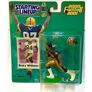 2000 Nfl Starting Lineup Hobby Edition Ricky Williams New Orleans Saints