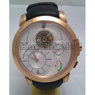 By Swiss Made HarryWitson Tourbilion 110Hours Mens Watch