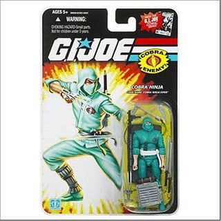 GI Joe 25th Anniversary Cobra Ninja Viper Action Figure