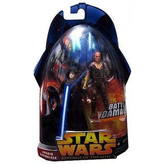 Star Wars Revenge Of The Sith Anakin Skywalker On Mustafar #50 Action Figure