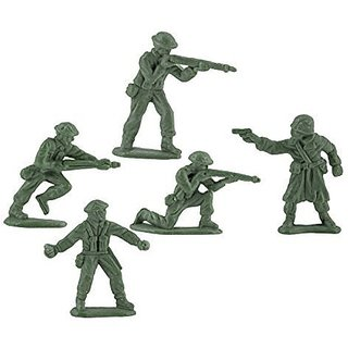 Mini Green Toy Soldiers U.S. Army Men Play War Kids Toys Boys