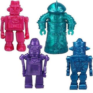 Play Visions Stretchy Robots Action Figure (4 Pack)