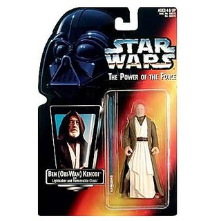 Star Wars: Power Of The Force Red Card ≫ Ben (Obi-Wan) Kenobi With Long Lightsaber Action Figure