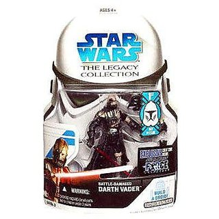 Star Wars The Legacy Collection Battle Damaged Darth Vader Action Figure