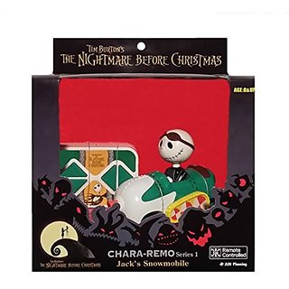 Tim Burtons The Nightmare Before Christmas Series 1 Chara-Remo Jacks Snowmobile