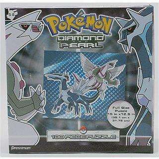 Pokemon Diamond And Pearl: Palkia-Dialga 100 Piece Puzzle