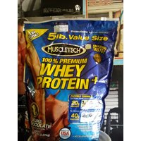 NEW Muscletech 100% Premium Whey Protein 5lb Chocolate(GMC IMPORTER)