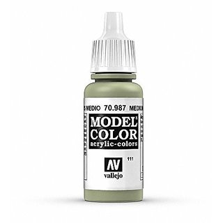 Vallejo Medium Grey Paint, 17ml