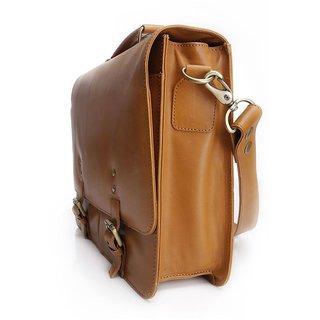 Craft Concepts X-Boss Light Tan Business Messenger Bag