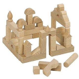 GoKi Mini Wooden Building Bricks