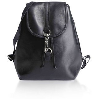 Craft Concepts Playgirl Leather Black Backpack
