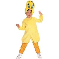 Childs Looney Tunes Tweety Bird Costume (Size:Medium 8-