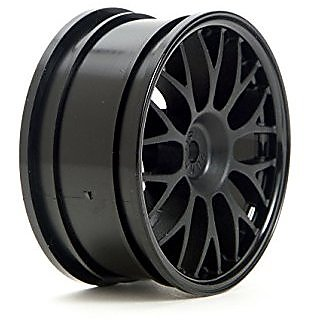 HPI Black Mesh Wheels 26mm Offset