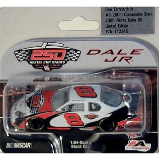 Dale Earnhardt Jr. #8 / 250th Consecutive Start / 2006 Monte Carlo Ss / 1:64 Scale Diecast Car